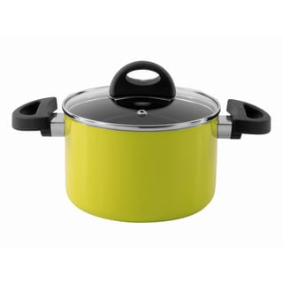 Eclipse 6.25-inch Lime Covered Casserole Dish