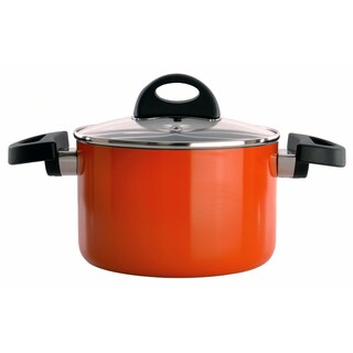 Eclipse 6.25-inch Orange Covered Casserole Dish