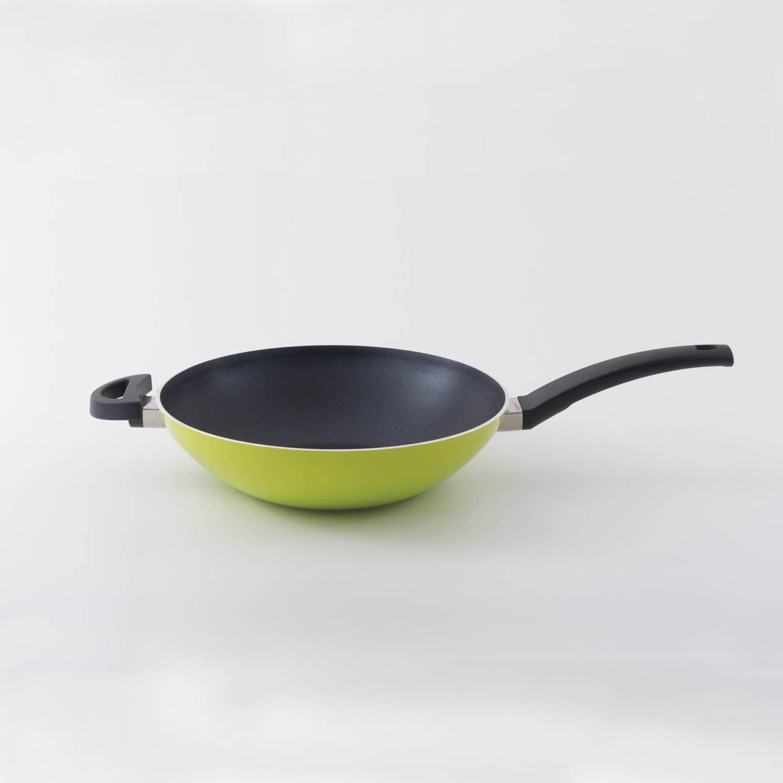 Berghoff International Inc Eclipse 11-inch Lime Wok (Lime...