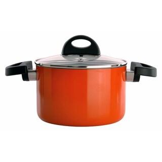 Eclipse 8-inch Orange Covered Casserole Dish