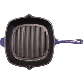 Neo 11-inch Purple Cast Iron Grill Pan