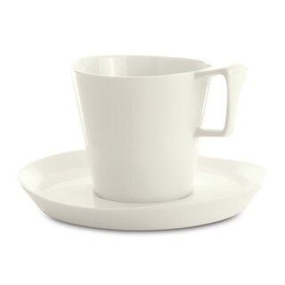 Eclipse Breakfast Cup and Saucer (Set of 2)
