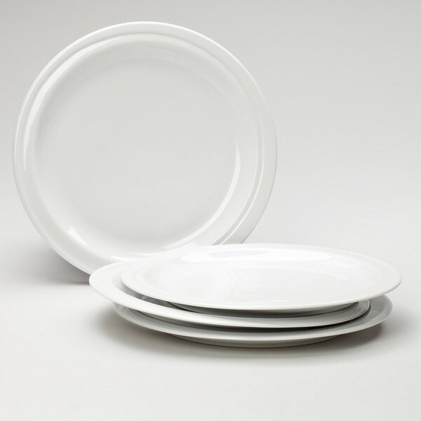 Hotel Line 4-piece 10-inch Dinner Plates
