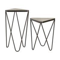 Sterling Angular Side Tables (Set of 2)