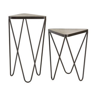 Sterling Angular Side Tables (Set of 2)