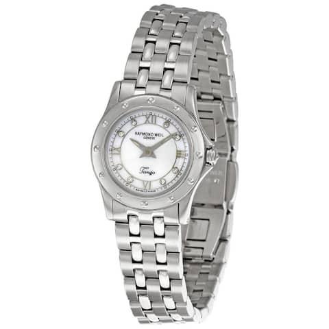 Raymond Weil Women's 5790-ST-00995 'Tango' Diamond Stainless Steel Watch