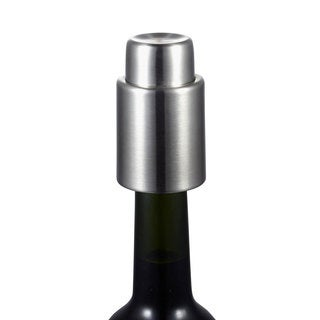 Visol Vacustopper Stainless Steel Wine Stopper and Vacuum Pump