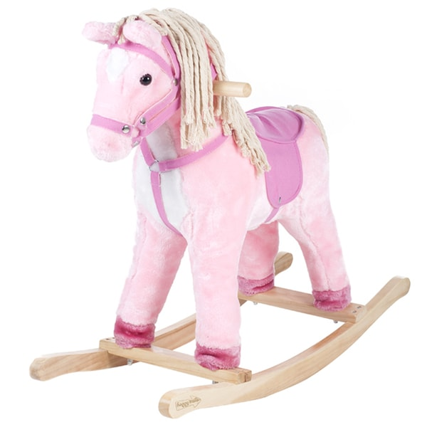 Happy Trails Pink Patty the Pony with Cotton Hair and Tail