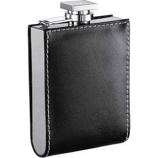 Visol Wallet Black Liquor Flask - 6 ounces