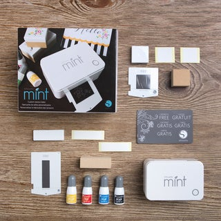 Silhouette Mint Metal/Plastic Customizable Stamp-making Machine