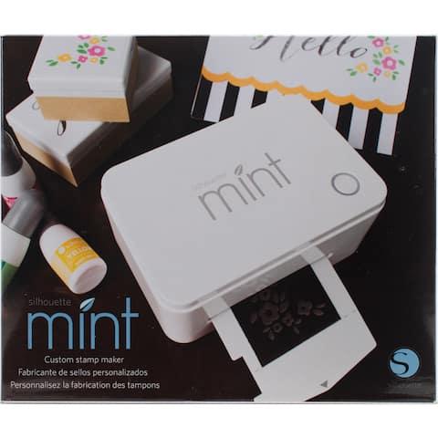 Silhouette Mint Metal/Plastic Customizable Stamp-making Machine