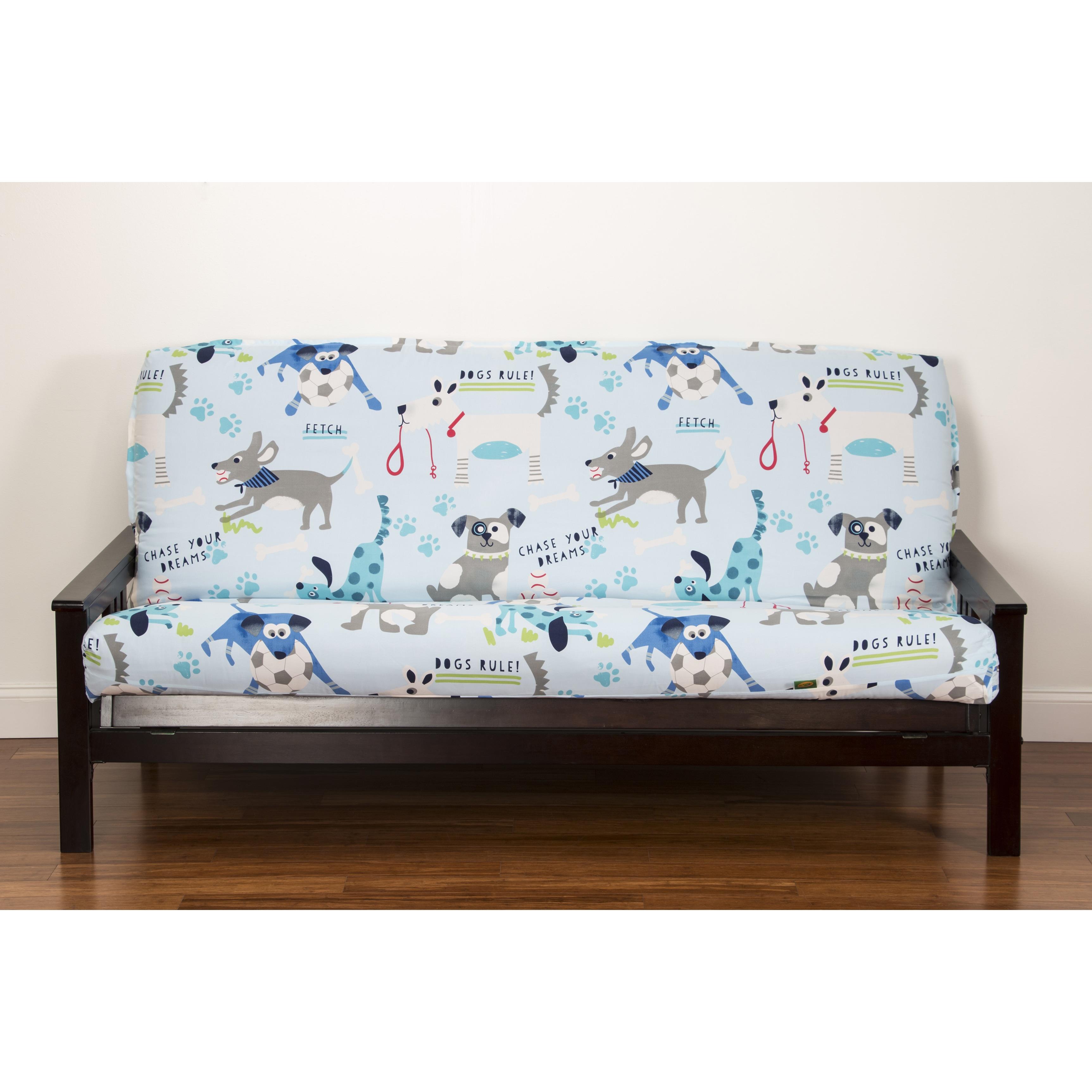 Remarkable Crayola Chase Your Dreams Futon Cover Inzonedesignstudio Interior Chair Design Inzonedesignstudiocom