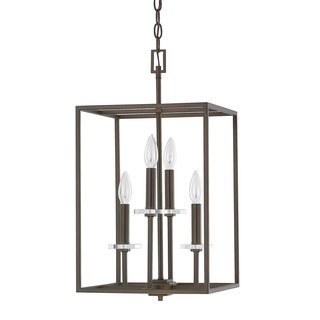 Capital Lighting Morgan Collection 4-light Burnished Bronze Foyer Fixture