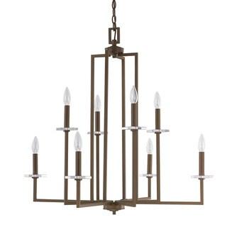 Capital Lighting Morgan Collection 8-light Burnished Bronze Chandelier