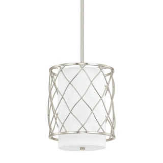 Capital Lighting Donny Osmond Sawyer Collection 2-light Brushed Nickel Mini-Pendant