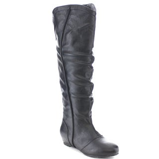 Wild Diva CANDIES-145 Women's Western Style Knee High Slouchy Riding Boots