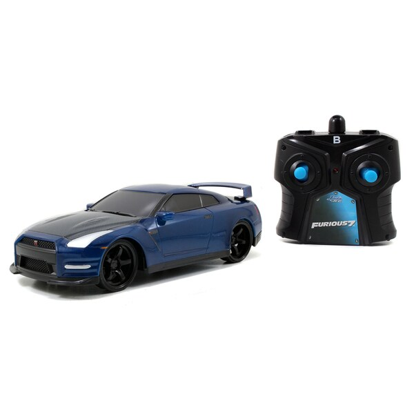 Jada Toys Fast and Furious Remote Control Nissan GT-R