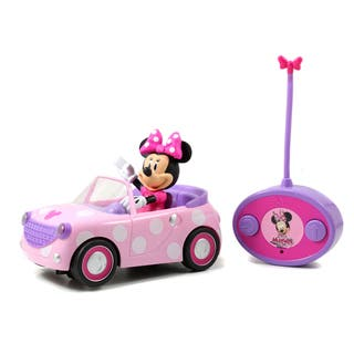 Jada Toys Remote Control Minnie Mouse Roadster|https://ak1.ostkcdn.com/images/products/10594615/P17668128.jpg?impolicy=medium