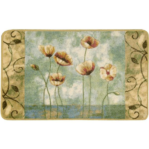 Nourison Accent Decor Light Blue Accent Rug (1'6 x 2'6) - 1'6 x 2'6