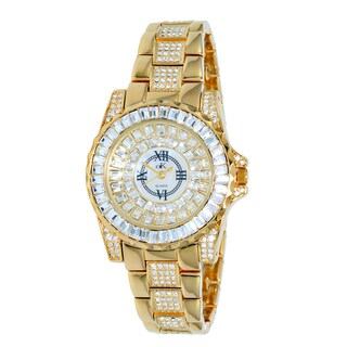 "Adee Kaye Ladies AK9-11lLG/CR ""Royal Collection"" Timepiece-Gold tone"