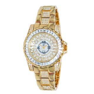 "Adee Kaye Ladies AK9-11lLG/CR ""Royal Collection"" Timepiece-Gold tone"