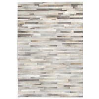 Oliver & James Sam Hand-stitched Cowhide Rug - 5' x 8'