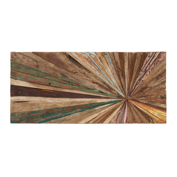 Overstock Wall Art reclaimed wood wall art - free shipping today - overstock