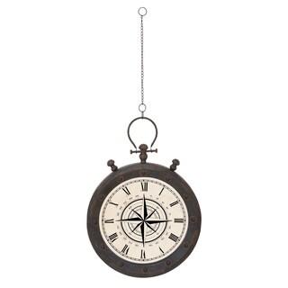 Old World Round Wall Clock