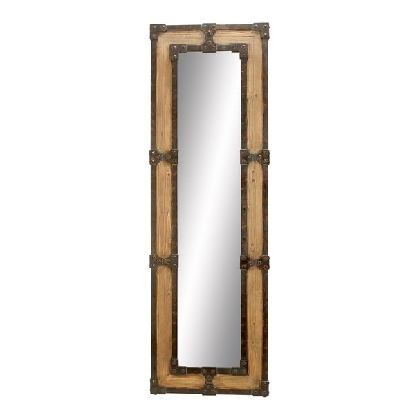 Rustic 67-inch Wall Mirror