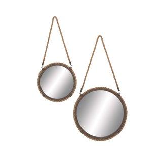 The Gray Barn Jartop Braided Rope Mirrors (Set of 2)