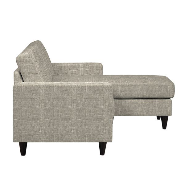 Outstanding Portfolio Luca Barley Tan Linen Sofast Sectional Sofa With Reversible Chaise Beatyapartments Chair Design Images Beatyapartmentscom