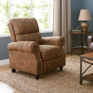 Clay Alder Home Klingle ProLounger Paisley Push Back Recliner Chair