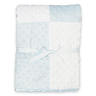 "Spasilk Minky Raised Dot Blanket - 30"" x 40"""