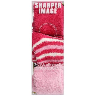 Sharper Image 3-Pack Ultra-Soft Snug Socks
