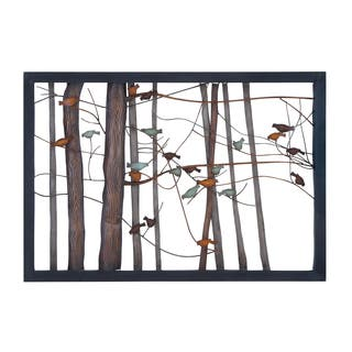 Birds on Branches Metal Tree Trunk Sculpture|https://ak1.ostkcdn.com/images/products/10594967/P17668461.jpg?impolicy=medium