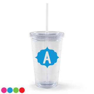 My Initial Personalized Acrylic Tumbler