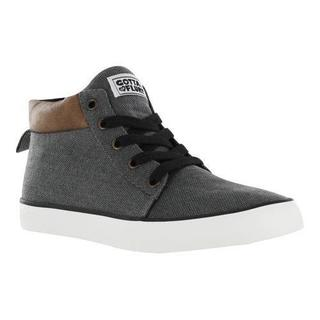 Women's Gotta Flurt Lolly Sneaker Charcoal Canvas