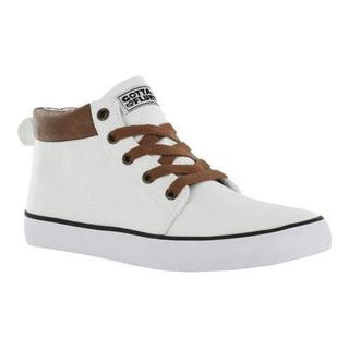 Women's Gotta Flurt Lolly Sneaker White Canvas