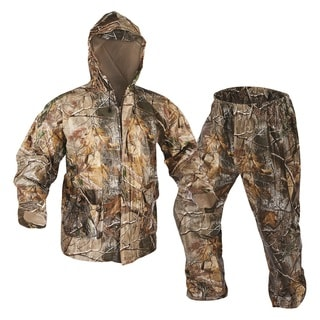 Onyx Outdoor Realtree AP Adult PVC Rainsuit