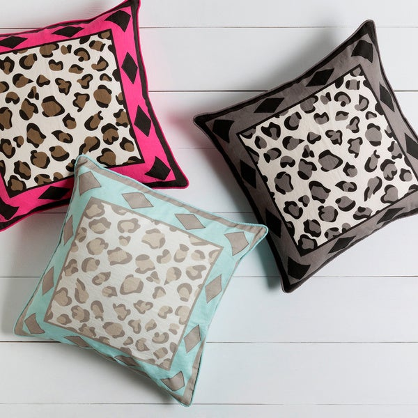 Decorative Denise 22-inch Geometric Pillow