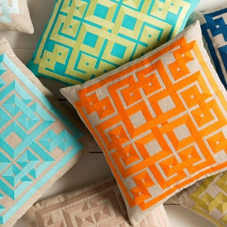 Decorative Felipe 22-inch Geometric Pillow