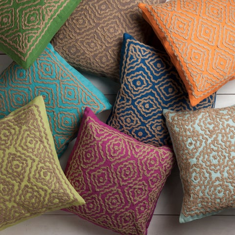 Decorative Sergio 22-inch Geometric Pillow