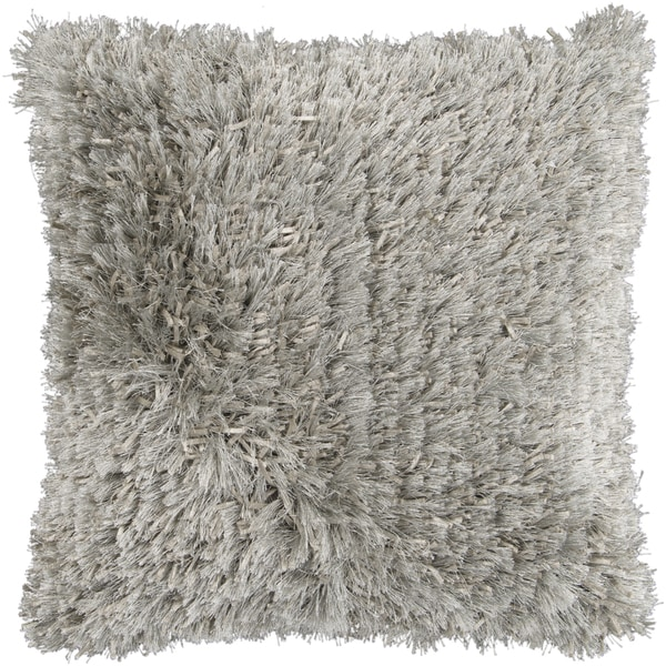 Shop Decorative 40inch Henley Shag Pillow Free Shipping Today Gorgeous Shaggy Decorative Pillows