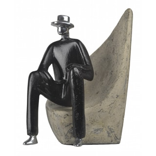 Mystery Man Bookend 1