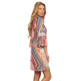 MOA Collection Women's Plus Size Shift Dress