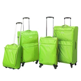 Traveler's Club Cloud 4-piece Super-Lite Spinner Luggage Set