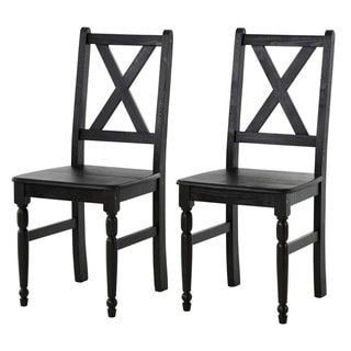 Scandinavian Lifestyle Noah Dining Chairs (Set of 2)