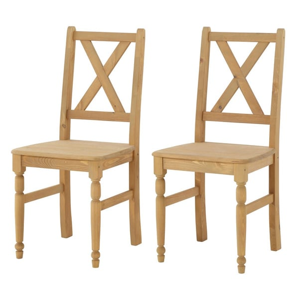 scandinavian lifestyle noah dining chairs set of 2 free shipping