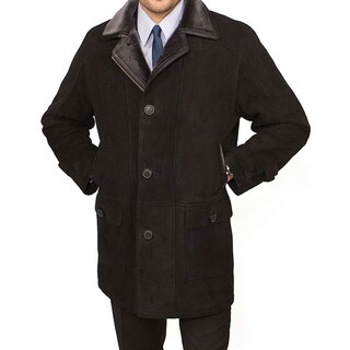 Tatto di Pelle Men's City Shearling Coat (More options available)