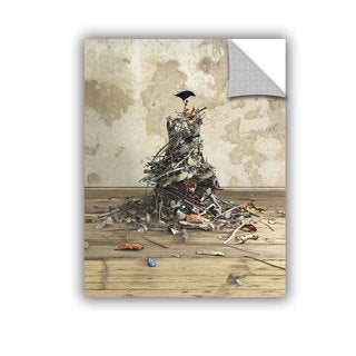 ArtAppealz Cynthia Decker 'Networth' Removable Wall Art